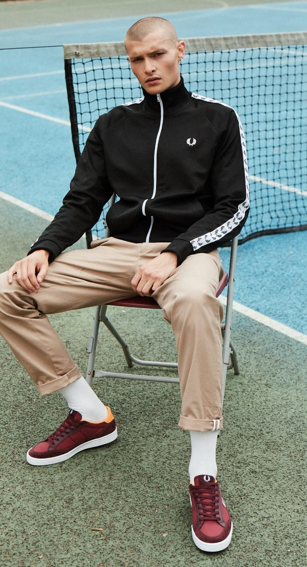 FRED PERRY-TENNIS SHOE1214
